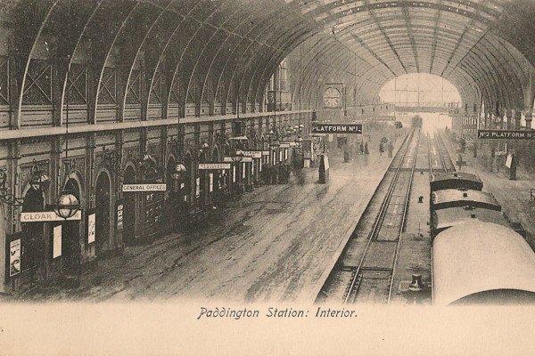Paddington Station in Victorian Times