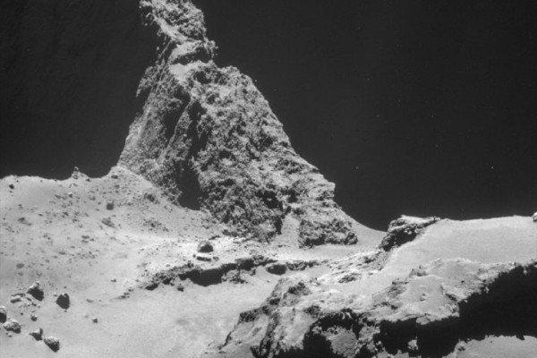 Comet 67P-Churyumov-Gerasimenko - image from the European Space Agency - ESA