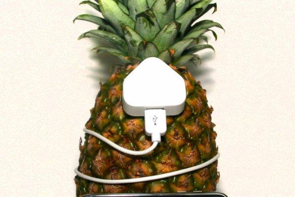 Pineapple Powered iPod