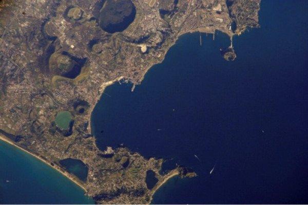 Astronaut Photography of Earth: Campi Flegrei and Pozzuoli, Italy