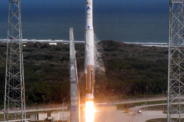 NASA's Solar Dynamics Observatory, SDO, launched aboard a United Launch Alliance Atlas V from Space Launch Complex-41 at 10:23 a.m. EST on Thursday, Feb. 11, 2010.