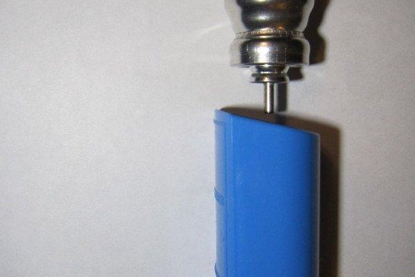 Salbutamol metered dose inhaler.