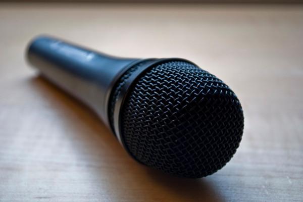 A Sennheiser Microphone