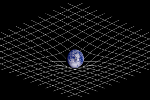 Massive objects bend the fabric of spacetime.
