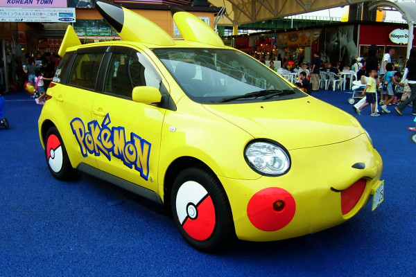 Pokémon car