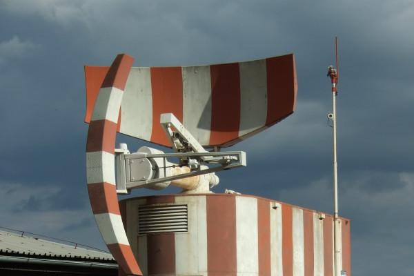 AIr traffic control radar