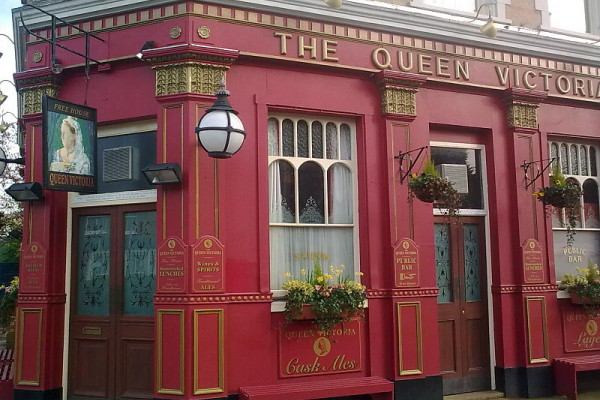 The Queen Vic - from Eastenders