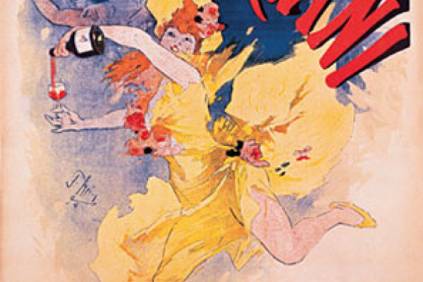 Mariani tonic Wine - lithography by Jules Cheret, 1894