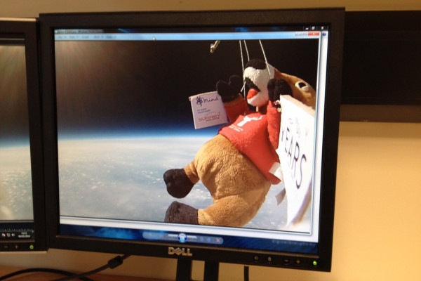 A virtual ride into space - Surrey Space