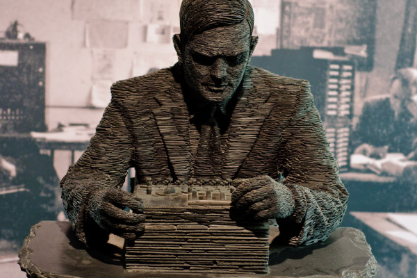 Monument of Alan Turing