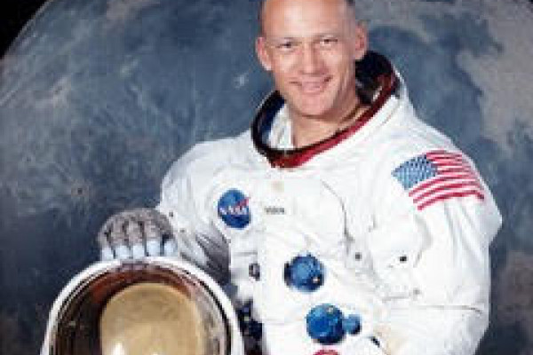 Buzz Aldrin in his heyday