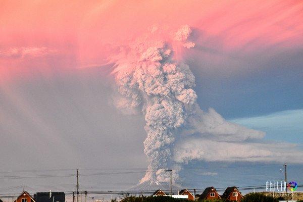 Calbuco Volcano by Philip Oyarzo Calisto
