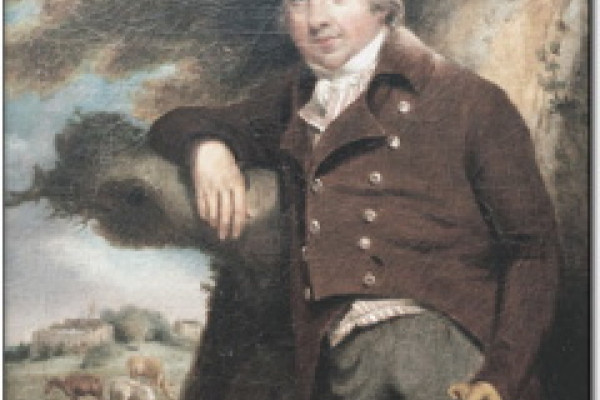 Edward Jenner, painted in about 1800 by William Pearce