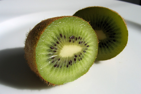 Kiwi fruit, still with all their DNA