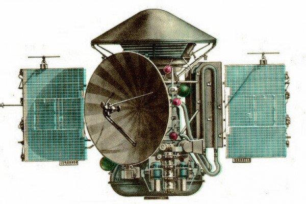The Mars 3 spacecraft