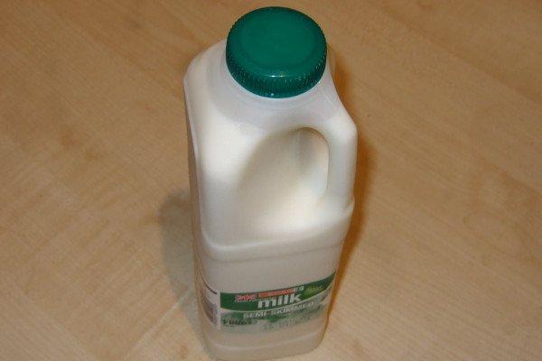 Some milk