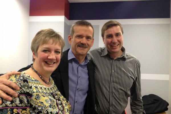 The Space Boffins meet Chris Hadfield
