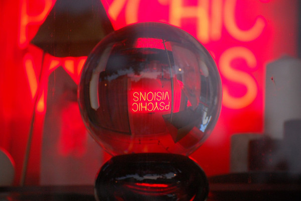 Psychic Visions in Crystal Ball