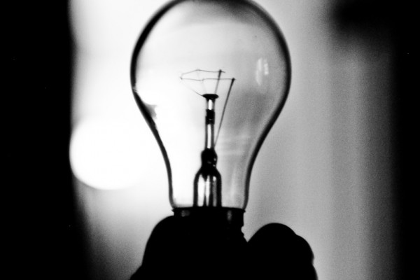 Lightbulb switched off
