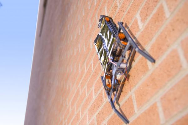 SRI International's Wall Climbing Robot