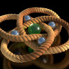 The world's smallest knot (artists impression)