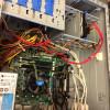 electronic components inside a desktop PC