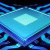 blue computer chip