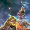 Carina Nebula imaged by the Hubble Space Telescope