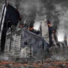 A nuclear wasteland