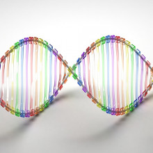Coloured DNA