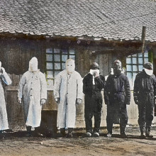 Scientists have unearthed photographs taken in countries including China during third plague pandemic, which killed 12 million people between the mid-19th and mid-20th centuries.