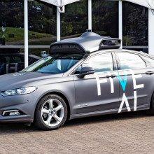 Driverless car from FiveAI