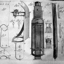 Van_Leeuwenhoek's microscopes, by Henry Baker