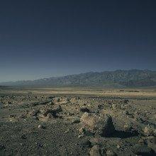 Rocks in the desert