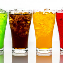 this is a picture of various fizzy drinks