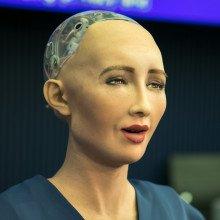 Robotic woman