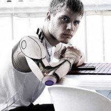 Robotic arm man