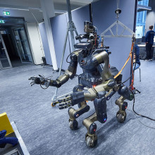 Robots play a role in post-disaster relief work in situations that are too dangerous for humans.