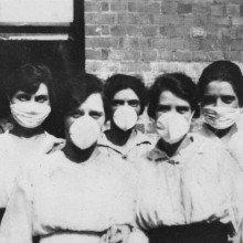 Five women battling spanish flu