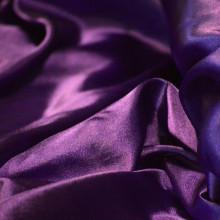Purple silk.