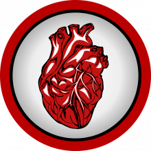 Logo of a human heart