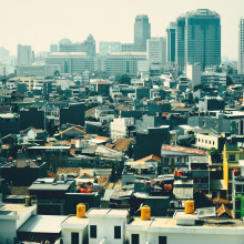 A view over Jakarta.