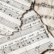 Musical scores.