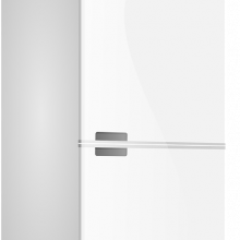 A white fridge