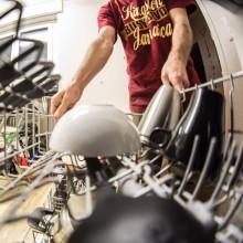 Dishwasher and crockery