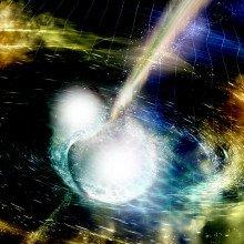 colliding neutron stars
