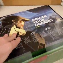 The new Xbox Series X box