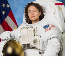 Astronaut and physiologist Jessica Meir