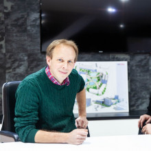 UKFast CEO Lawrence Jones and the Naked Scientists' Chris Smith