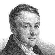 Portrait of the French psychiatrist Jacques-Joseph Moreau de Tours.